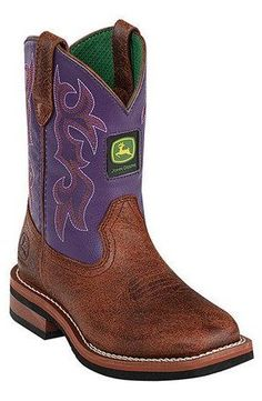 e26db4a3348e Purple Leather Cowboy Boot Children s Cowboy Boots