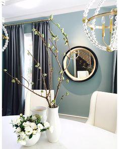 Living room colors blue farrow ball 66 Ideas for 2019 Living Room Decor Colors, Bathroom Colors Blue, Beautiful Kitchens, House Beautiful Kitchens, Blue Living Room, Paint Colors For Home, Oval Room Blue, Colorful Decor, Diy Living Room Decor