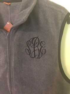 A personal favorite from my Etsy shop https://www.etsy.com/listing/167748775/sale-fleece-vest-monogrammed-monogram