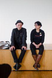 Frank Tentler und Wibke Ladwig beim stARTcamp München 2014 | Andreas Gyo