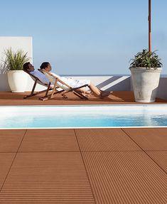 #Kunststoff  #Holz #Deck DIY Holz Kunststoff Verbund Decking