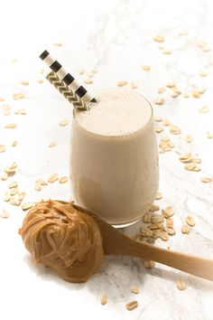Ripe bananas and natural peanut butter create an addictive, salty-sweet flavor combo in this protein-packed smoothie-- perfect for breakfast or any time of the day.