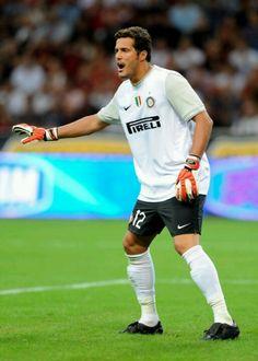 Julio Cesar - Flamengo, Chievo Verona, Internazionale, Queen's Park Rangers, Brazil.