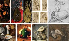 Lutes in Bosch Paintings
