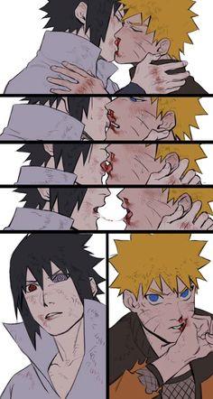 Sasuke And Naruto Love, Naruto Sasuke Sakura, Naruto Cute, Naruto Funny, Naruto Shippuden Sasuke, Madara Uchiha, Anime Naruto, Sasunaru, Narusasu