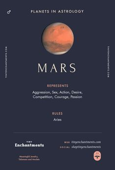 Mars Sign in Astrolo