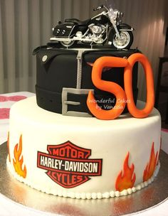 Harley Cake I Made Last Year Everyone Loves Cake