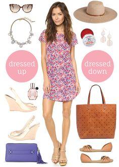 dressed up + dressed down!