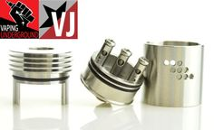 Vapor Joes - Daily Vaping Deals: THE MUTATION X  - REBUILDABLE ATOMIZER BY INDULGEN...
