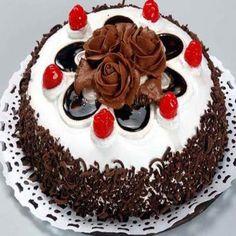 1 Kg Tasty Black Forest Cake