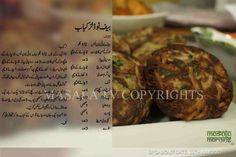 beef noodles kabab