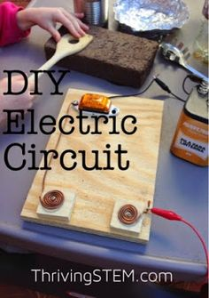 How to Make a Do it yourself circuit for testing electric conductivity