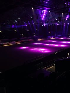 Tuesday night at the LG Arena, Birmingham getting ready for Horse of the Year Show 2013.
