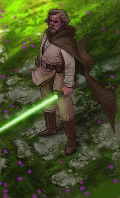 "starwarscountdown ""Good ol' Luke"" by Tony Warne aka Jedi-Art-Trick  840 Days until Episode IX  577 Days until the Han Solo Movie  and  THREE  HUNDRED  SIXTEEN  DAYS  UNTIL  THE LAST JEDI"
