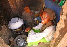 preparing lunch | Africa