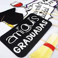 Resultado de imagen para photocall graduacion