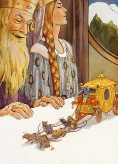 "Margaret Tarrant - illustration from ""Tom Thumb"""