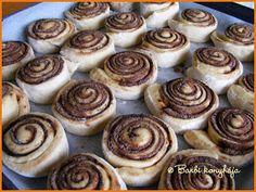 Barbi konyhája: Mami kakaós csigája