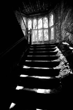To Miss Haversham's attic. #photography, #stair, #window
