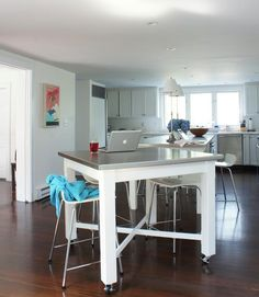 Can a kitchen island ever be too long? This year we extended our ten-foot-long kitchen island to 14 feet, and it was the best remodeling decision we ever made.