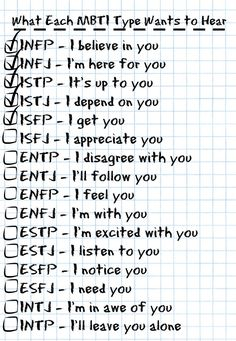 An ISFJ's Perspective on Personality