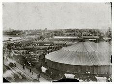 Sanger's Circus Big Top. 1900.