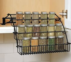 Superieur 23 Inexpensive Products Thatu0027ll Keep Your Kitchen Organized. Pull Down Spice  RackSpice ...