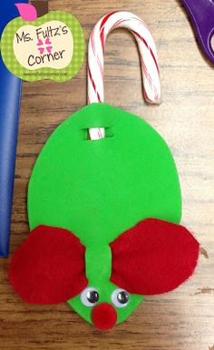 Ms. Fultz's Corner: Cute and EASY Christmas Craft