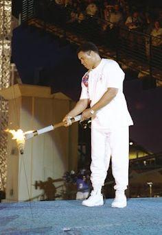 Muhammed Ali at the 2012 London Olympics