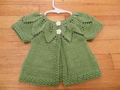 Free Knitting Pattern Gift Ideas : Free Baby Sweater Knitting Pattern - Homemade Baby Gift ...