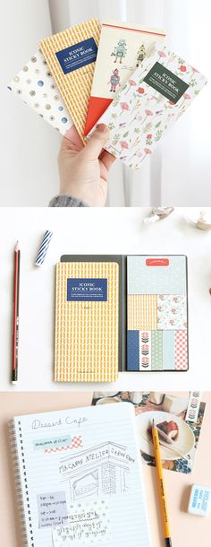 Iconic Sticky Notebook v3 is super useful when I am trying to write down quick memos, notes or a to-do list. The decorative and colorful aesthetic of the sticky notes makes them standout and noticeable.