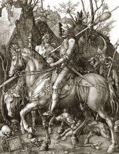 Albrecht Dürer - Le Chevalier, la Mort et le Diable