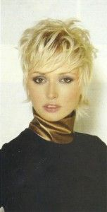 short shag....one of my favourite hair styles!
