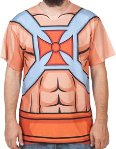 He-Man Sublimated Costume Shirt