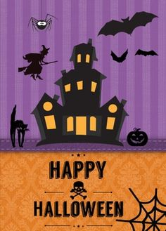 happy halloween send this real card free for a limited time - Pictures That Say Happy Halloween