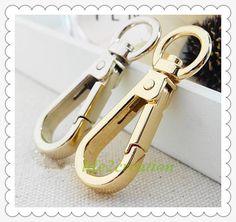 Sourcingmap Zinc Alloy 3//4 D Ring Swivel Lobster Snap Clasp Trigger Hook Silver Tone 2pcs