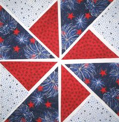 <br><li>Fireworks Fabric Pinwheel Quilt Kit warms up winter nights<li>Kaleidoscope quilt block includes enough pre-cut fabric to make 12 quilt pinwheel blocks<li>Finished quilt blocks measure 12.5 inches wide x 12.5 inches high