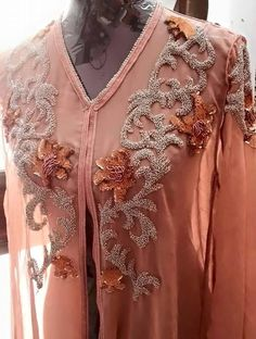 Plus Caftan Gallery, Modest Fashion, Fashion Outfits, Pakistani Couture, Moroccan Caftan, Caftan Dress, Embroidery Fashion, Party Wear Dresses, Indian Designer Wear