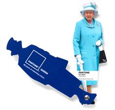 God save the Pantone Queen 01/02