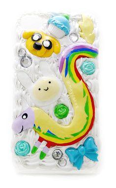 Adventure Time Decoden Phone Case