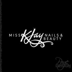 Logo for Miss K Jay Nails & Beauty, Rotorua NZ