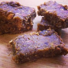 Ginger-Date Bars – Gluten, dairy, sugar free and paleo! add some protein!!!