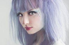 grayish lavender color | grey-lavender hair color