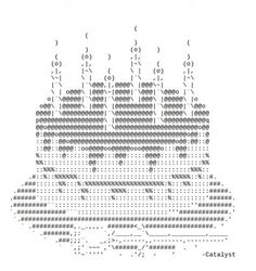 ASCII art for birthdays. Even if it's your unbirthday. Happy Birthday For Facebook, Happy Birthday Messages, Ascii Art, Birthday Text, Type Design, Text Messages, Art Images, About Me Blog, Symbols