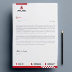 Example Of Business Letter Company Letterhead Template, Free Letterhead Templates, Letterhead Logo, Letterhead Business, Stationery Templates, Corporate Business, Corporate Design, Creative Business, Invoice Design