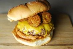 Fried Pickle Jalapeno Burger!  Do you love fried pickles but are bored by the lack of heat? Are you sick of putting un-breaded non-fried toppings on your burger? Well look no further! The fried pickled jalapeno burger is here!