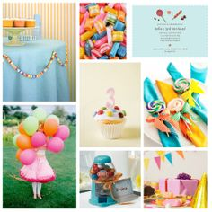 Children's Birthday Party: Decorate with Candy!,