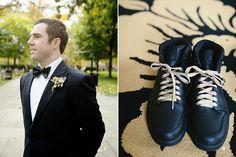 Brides: A Playful Philadelphia Wedding with Glam Gold Details