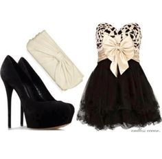 dress- kind of cute but party outfit...