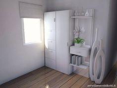 Cucina Horizon lucida Soggiorno Link - DIOTTI A&F Arredamenti bottiglie-legno-lampada